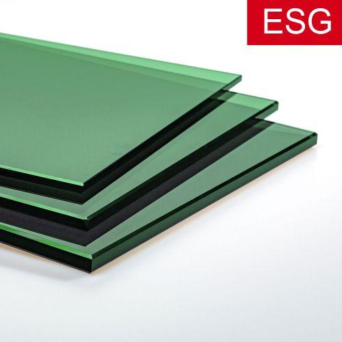 """Parsol-Grün Glas """"PRO green"""" als ESG - Sicherheitsglas  Vorschaubild #1"""