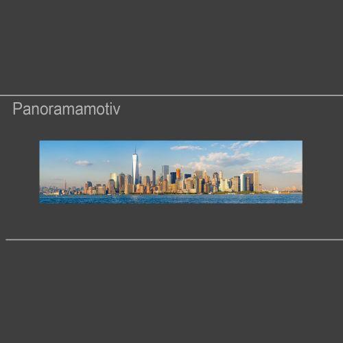 """Küchenrückwand aus Glas mit Motivdruck """"New York""""  Vorschaubild #1"""