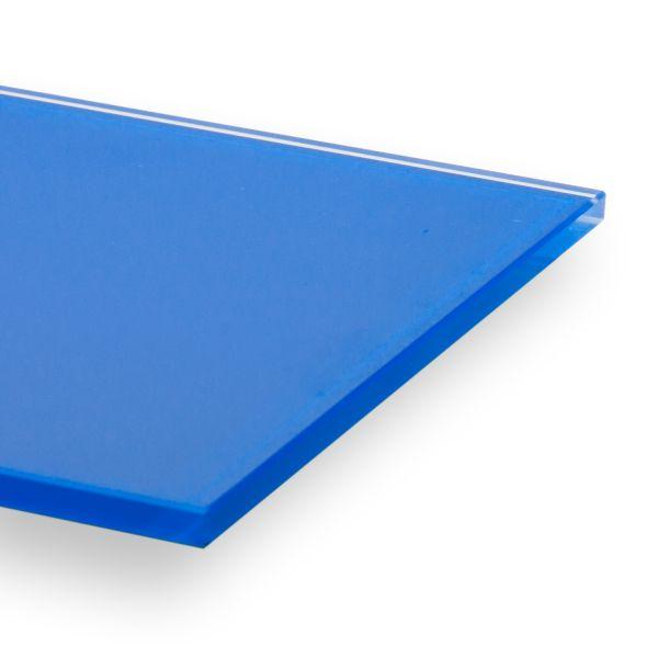 "Glas in RAL 5xxx (""Blautöne"") lackiert"