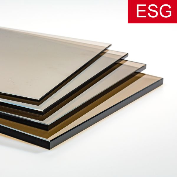 Parsol-Bronze Glas als ESG - Sicherheitsglas