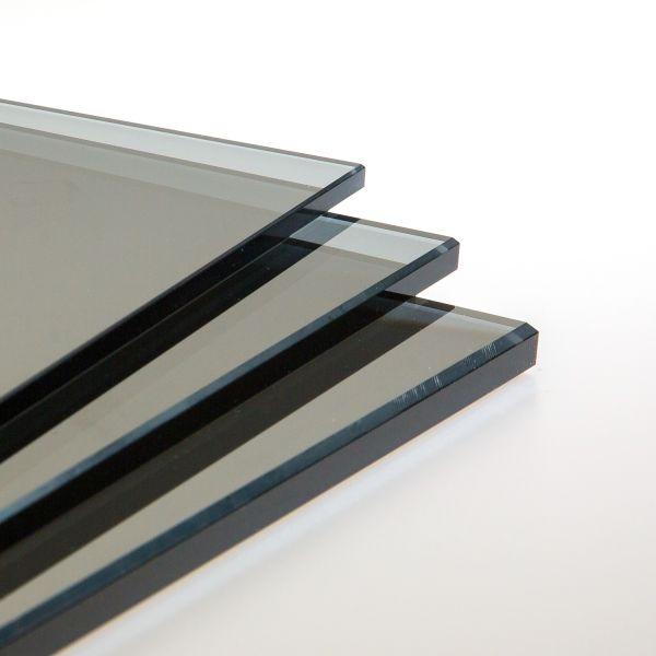 parsol grau glas nach ma zuschnitt online kaufen glas selection. Black Bedroom Furniture Sets. Home Design Ideas