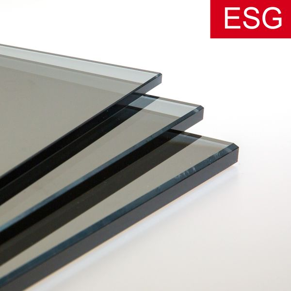 parsol grau glas nach ma zuschnitt online kaufen glas. Black Bedroom Furniture Sets. Home Design Ideas