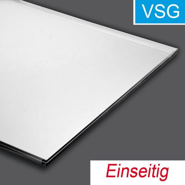 VSG-Spiegel, Einseitig, Farbton silber