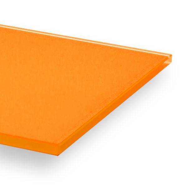 """Küchenrückwand aus Glas in RAL 2xxx (""""Orangetöne"""") lackiert"""