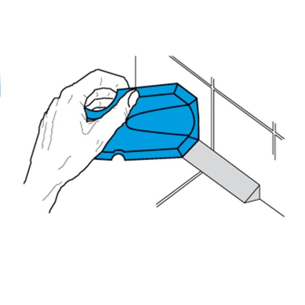 Profi Versiegelungs-Abziehspachtel-Set aus Spezial-Kunststoff, 3teilig im Etui   Storch329010