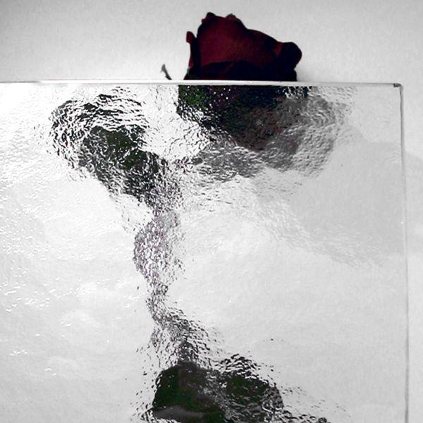 """Kühlschrank-Glasplatte, Ornamentglas """"Kathedral"""", klar"""