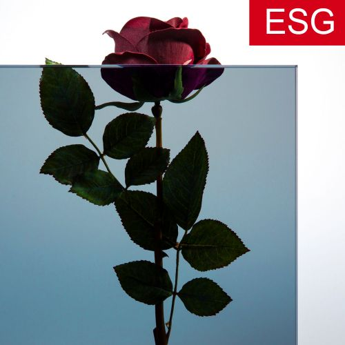 """Parsol-Blau Glas """"PRO blue"""" als ESG - Sicherheitsglas  Vorschaubild #2"""
