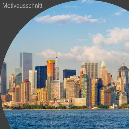 """Küchenrückwand aus Glas mit Motivdruck """"New York""""  Vorschaubild #2"""