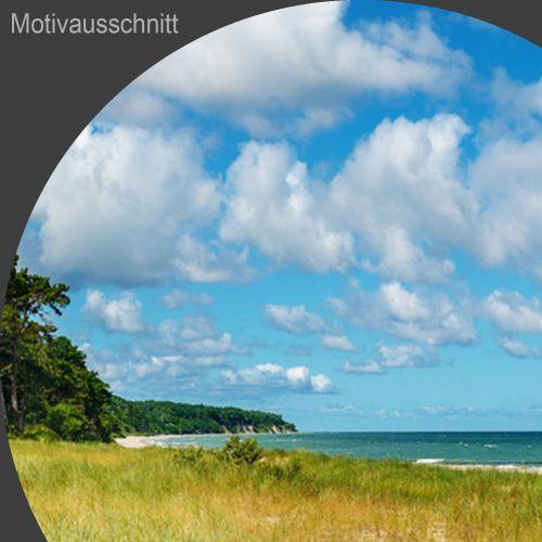 """Küchenrückwand aus Glas mit Motivdruck """"Strand""""  Vorschaubild #2"""