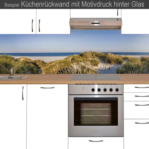 k chenr ckwand aus glas mit motivdruck helgoland online kaufen. Black Bedroom Furniture Sets. Home Design Ideas