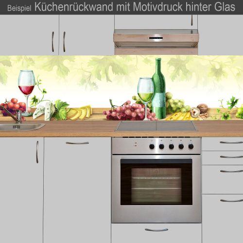 """Küchenrückwand aus Glas mit Motivdruck """"Wein""""  Vorschaubild #3"""